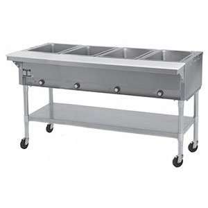 240 Volts Eagle Group SPDHT4 Portable Hot Food Table 4