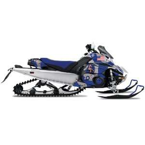 AMR Racing Yamaha Fx Nytro Sled Snowmobile Graphics Decal Kit Tbomber