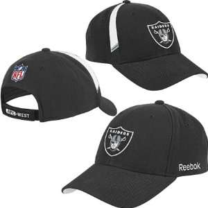 Oakland Raiders NFL Reebok Coaches Adjustable Hat Sports