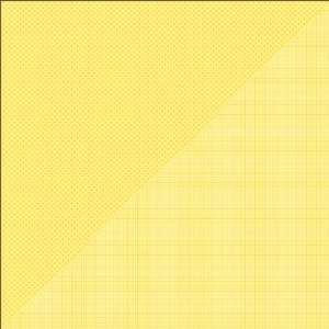 Petite Prints Double Sided Cardstock 12X12 Dot/Grid