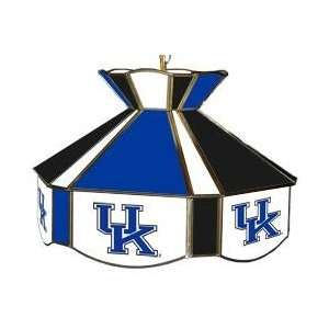 Kentucky UK Wildcats Stained Glass Billiard/Pool Table Swag Light/Lamp