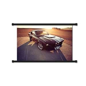 Ford Shelby GTR Car Fabric Wall Scroll Poster (32x21