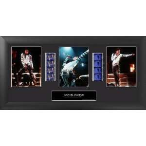 Michael Jackson (S4) Trio Framed Original Film Cell Le