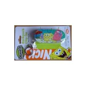 Spongebob Squarepants Backpack Clip on Mini Tin Box Toys