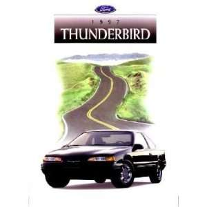 1997 FORD THUNDERBIRD Sales Brochure Literature Book