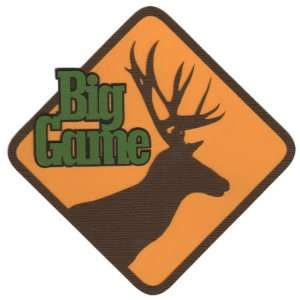 Hunting Big Game Laser Die Cut Toys & Games