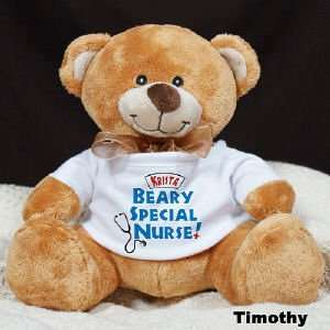 Beary Special Nurse ?Ty Inc. Plush Teddy Bear Toys & Games