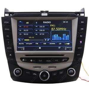 2003 07 Honda Accord Car GPS Navigation Radio ATSC TV Bluetooth