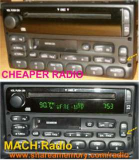 FORD EXPLORER RADIO BLANK DISPLAY REPAIR (or volume)