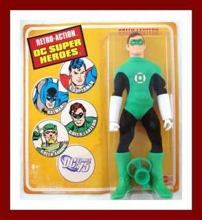 Retro Action DC Super Heroes Green Lantern Figure Mego