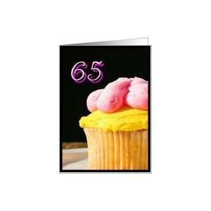 Happy 65th Birthday muffin Card Toys & Games