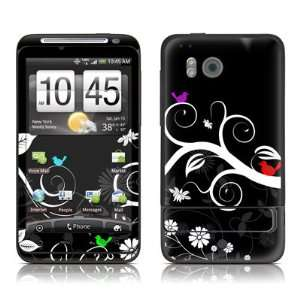 Tweet Dark Design Protective Skin Decal Sticker for HTC