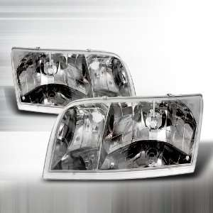1998 2005 FORD CROWN VICTORIA CRYSTAL HOUSING HEADLIGHTS