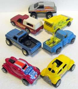 Mattel HOT WHEELS Diecast Matchbox Cars 70 80s Metal Bases NR