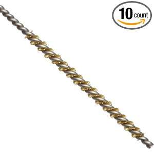 Mill Rose BMWB 06034 10 Brass Miniature Twisted Wire Tube Cleaning