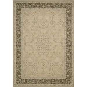 Nourison Persian Empire Sand Traditional Persian 2 3 x 8 Runner Rug