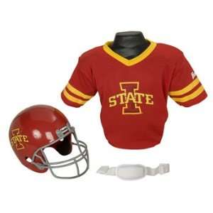 Iowa State Cyclones ISU NCAA Football Helmet & Jersey Top