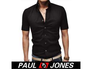 New Stylish Mens Casual S sleeves Shirt Cool dg0