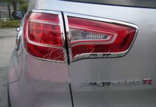 2011 Kia Sportage ABS Chrome Tail Light Lamp Cover Trim