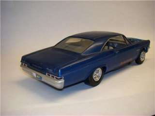 VTG ORIGINAL 1/25 AMT 1966 CHEVROLET IMPALA SS396 DRAG RACER HOT ROD