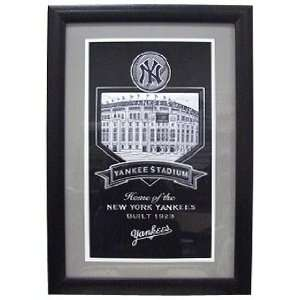 New York Yankees Yankee Stadium Framed Wall Plaque Sports