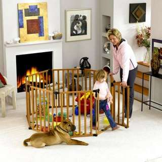 baby pet gate play yard new keep kids pets safe fast ship warranty