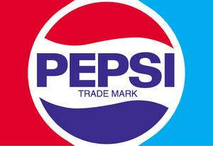 PEPSI Vintage Vinyl Decal Sticker 18 wide FULL COLOR