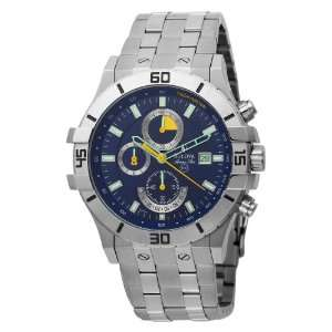 Bulova Mens 96B115 Marine Star Blue Dial Chronograph Watch Bulova