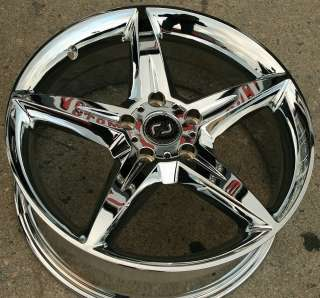 RON JON SERVO 18 CHROME RIMS WHEELS MERCEDES C280 C320 C350