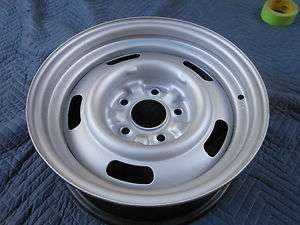 1967 15X6 CHEVY ORIGINAL CORVETTE RALLY WHEEL LARGE DC CODE GOOD