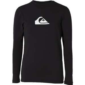 Quiksilver Solid Streak Surf Shirt   Long Sleeve   Kids