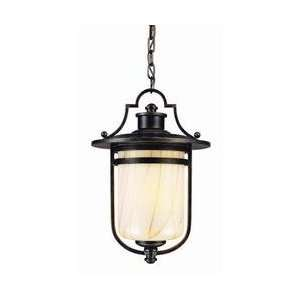 Troy Lighting F1637OBZ 3 Light Oyster Bay Outdoor Pendant, Old