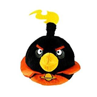 Angry Birds Space 8 Plush No Sound   Ice Bomb Bird Toys