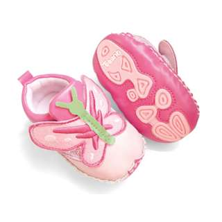 Leather Toddler Baby Girls Butterfly Walking Shoes 3 18 months SA109