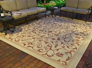 Resorts Natural Indoor/ Outdoor Area Rug 3 x 5
