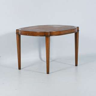 Antique Mahogany English Side Table or Small Coffee Table Circa 1940
