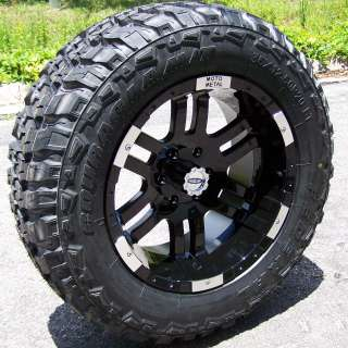 WHEELS & 35 FEDERAL M/T TIRES TOYOTA TACOMA TUNDRA TITAN GMC