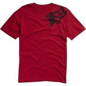 Fox Racing Intruder T Shirt   2X Large/Red Automotive