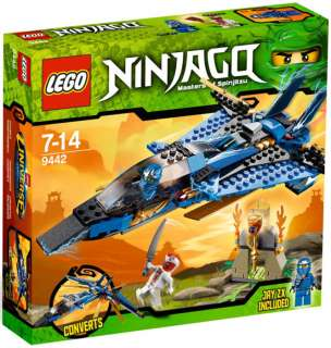 LEGO NINJAGO 9442 Ninja Jays Storm Fighter NEW Factory Sealed