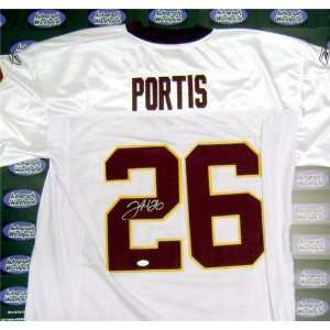 Clinton Portis Autographed/Hand Signed football jersey (Washington