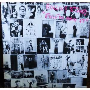 Exhile on Main Street Original Rolling Stones Records Double Album