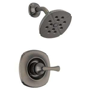 Delta Addison Aged Pewter 1 Handle Shower Faucet with Single function