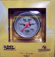 AUTOMETER ULTRA LITE ELECTRIC FUEL PRESSURE GAUGE 100