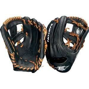 Easton Pro Travel Ball Youth Baseball Glove (Brown, 11.75 Inch, Right