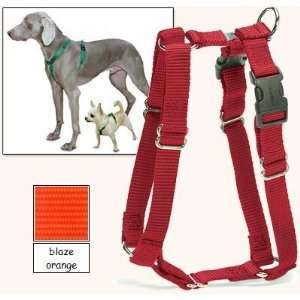 Dog Harness, 5 Way Adjustability for a Perfect Fit (Blaze Orange, X