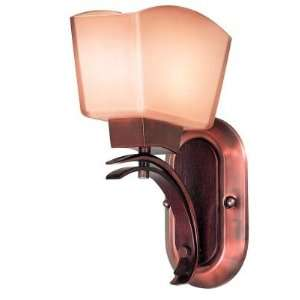 Kenroy Home Oslo Wall Sconce With Burnished Copper Finish