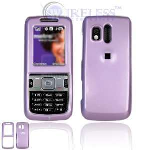 Light Purple Snap On Cover Hard Case Cell Phone Protector
