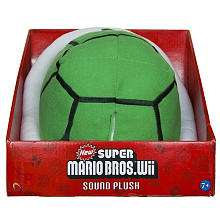 Super Mario Bros. 8 Plush With Sound   Green Koopa Shell   Toys R Us