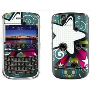 Star Skin for Blackberry Tour 9630 Phone Cell Phones & Accessories