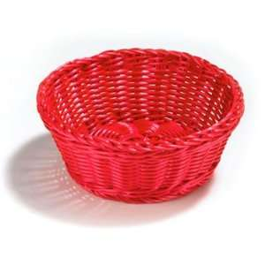 Tablecraft Ridal Collection Hand Woven 8.25 Round Basket Assorted Set